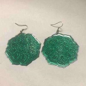 Jewelry - Green earrings